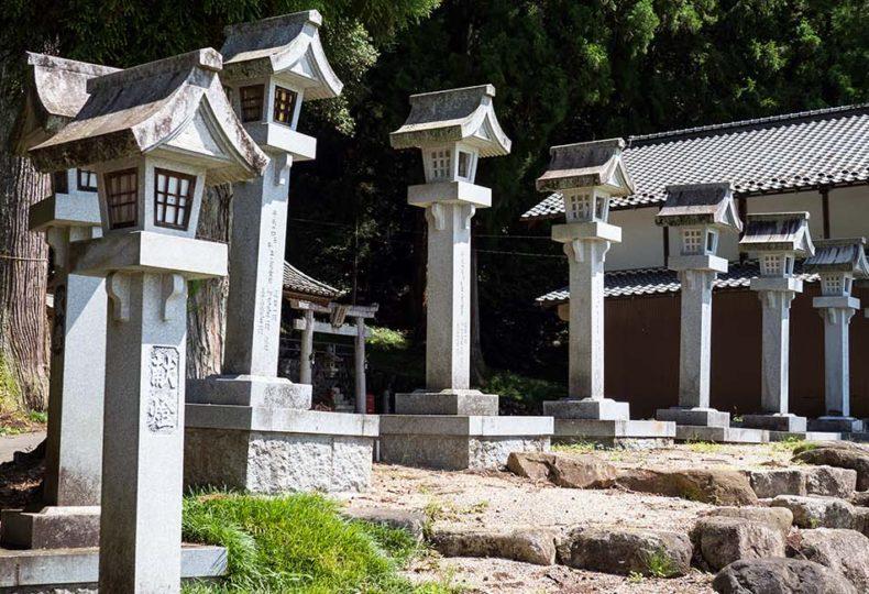 白山神社(岐阜県中津川市下野)