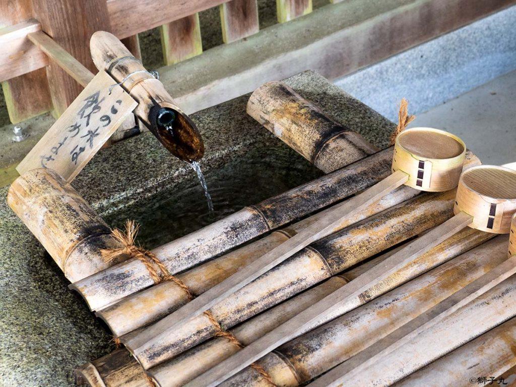 榊山神社 手水舎