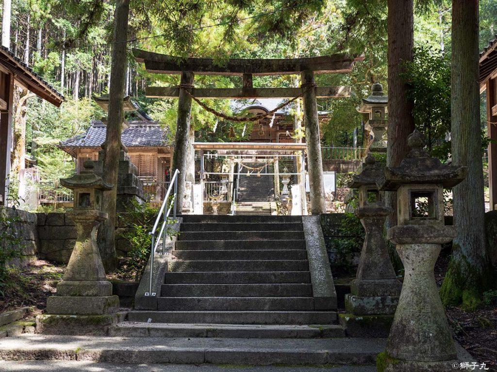 榊山神社 二の鳥居