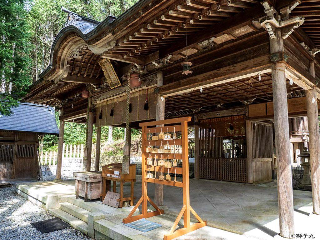 榊山神社 拝殿