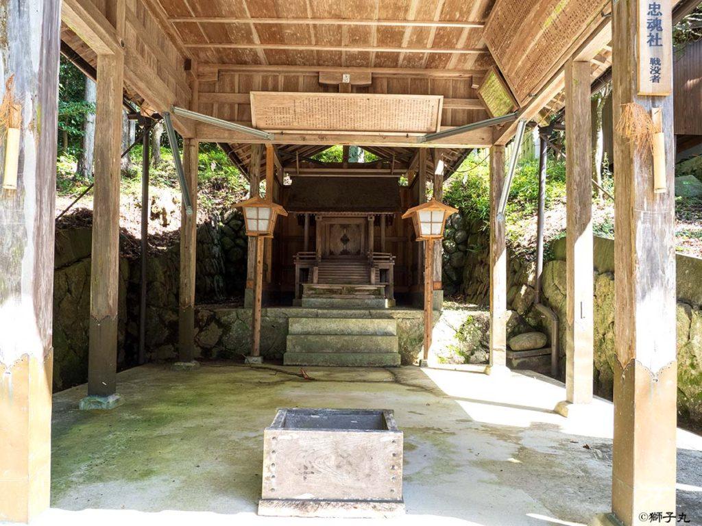 榊山神社 忠魂社
