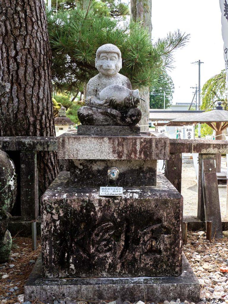 日本三大庚申堂 下野庚申堂 猿像