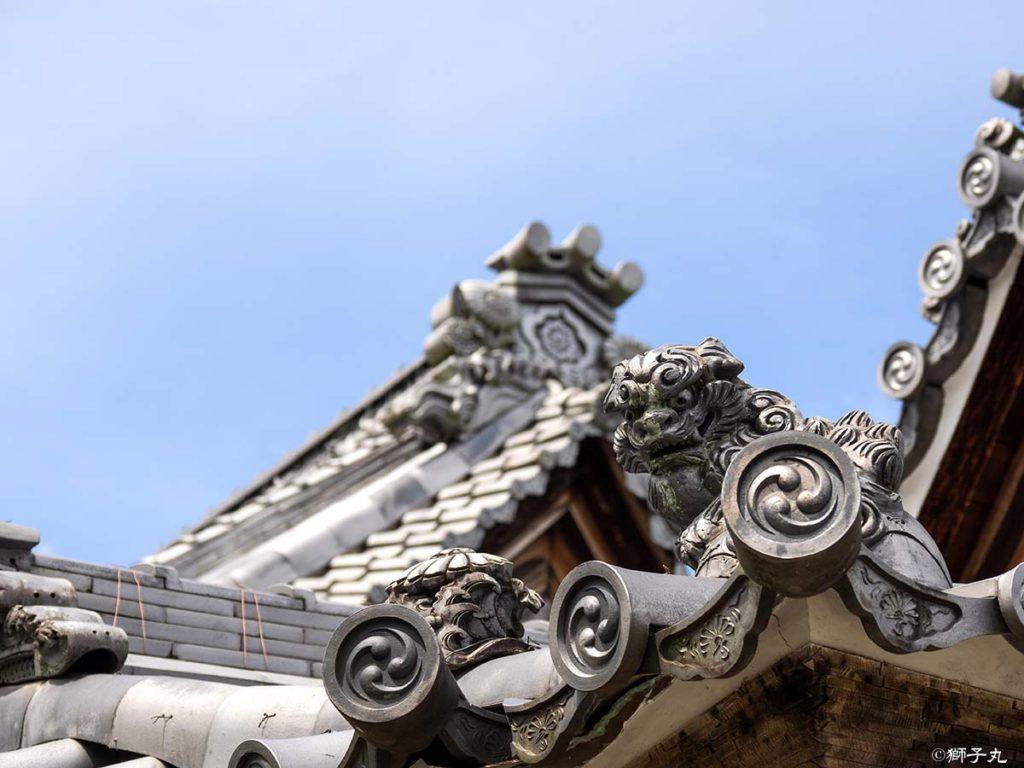 日本三大庚申堂 下野庚申堂 聖天堂 留蓋瓦