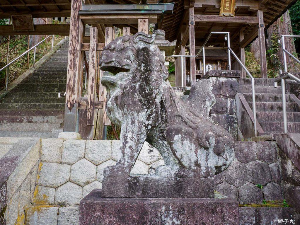 常磐神社 狛犬