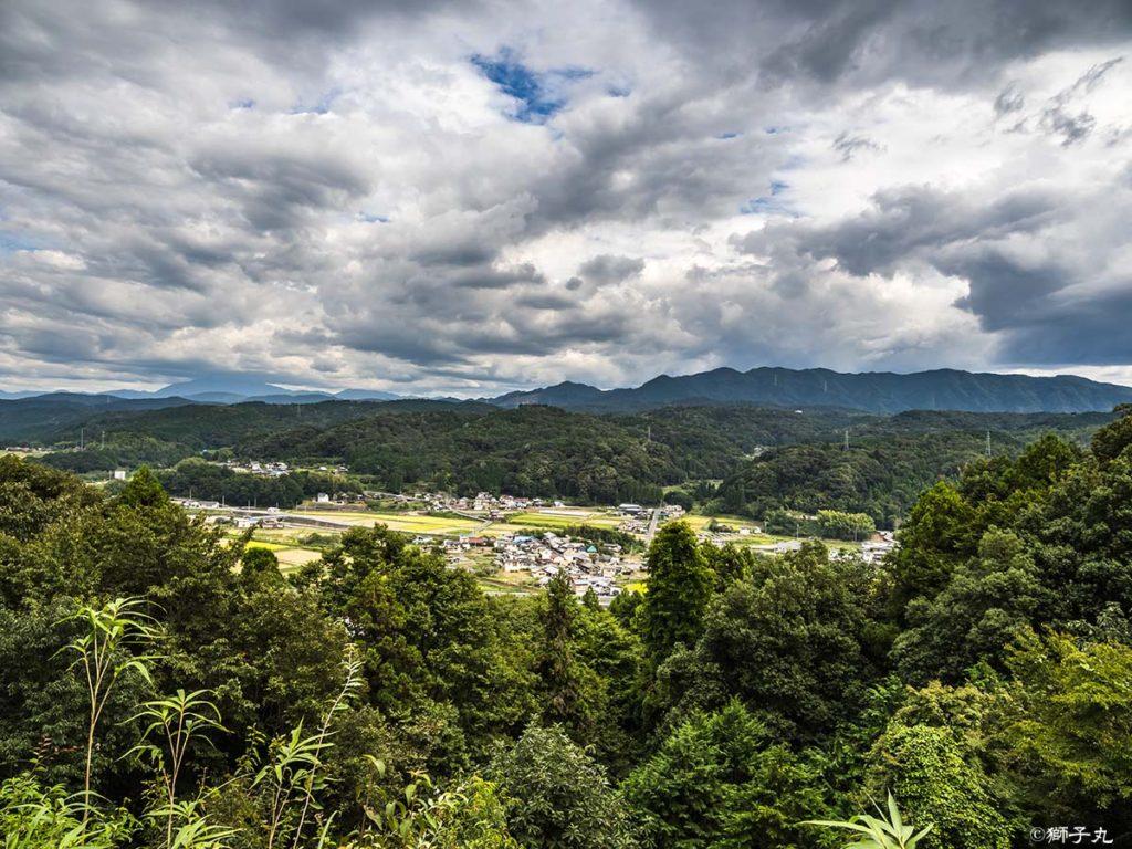 鶴ヶ城跡 本丸跡からの眺望