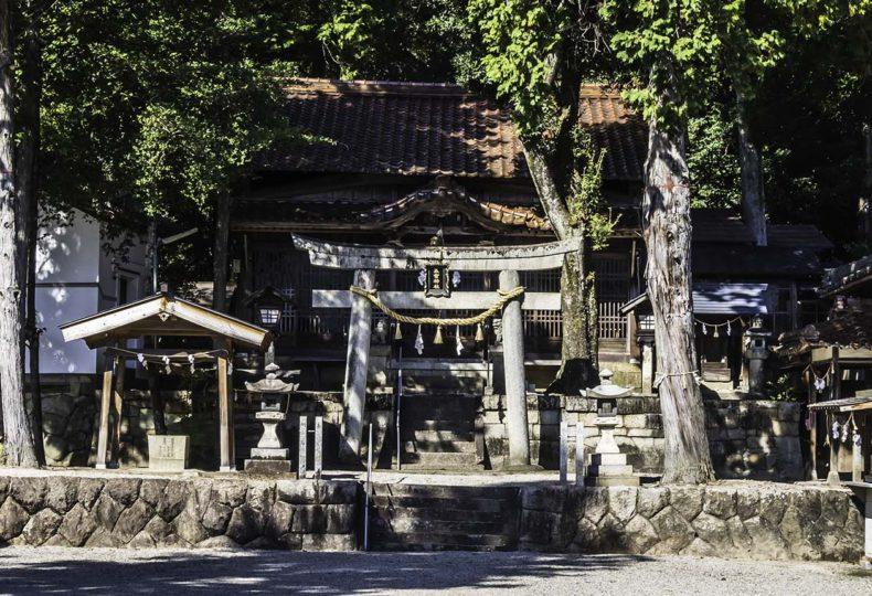 五宮神社(長野県木曽郡南木曽町)