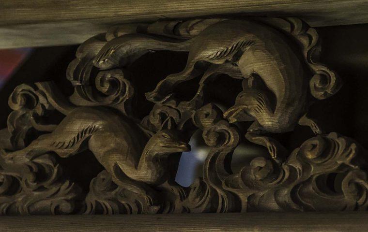 中山稲荷神社(岐阜県中津川市)