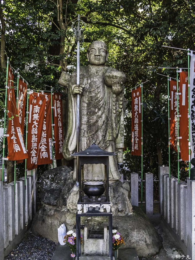 大須観音(北野山 真福寺 寶生院) 弘法大師修行像