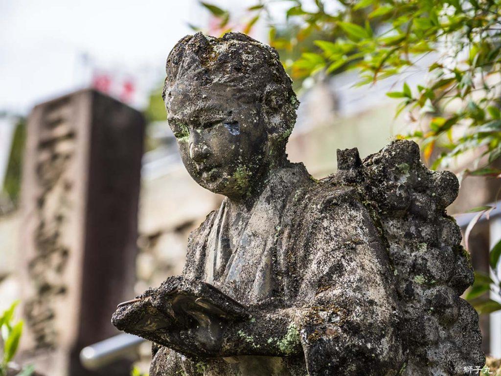 龍雲山 宝珠寺 二宮金次郎像