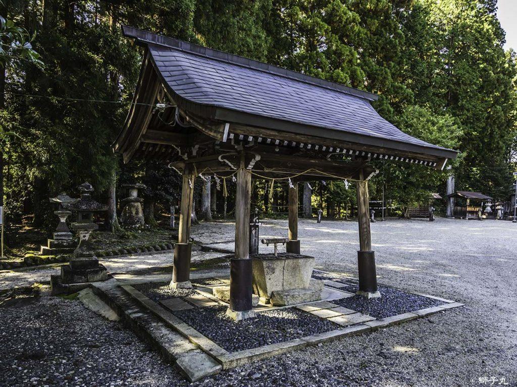 坂下神社 手水舎