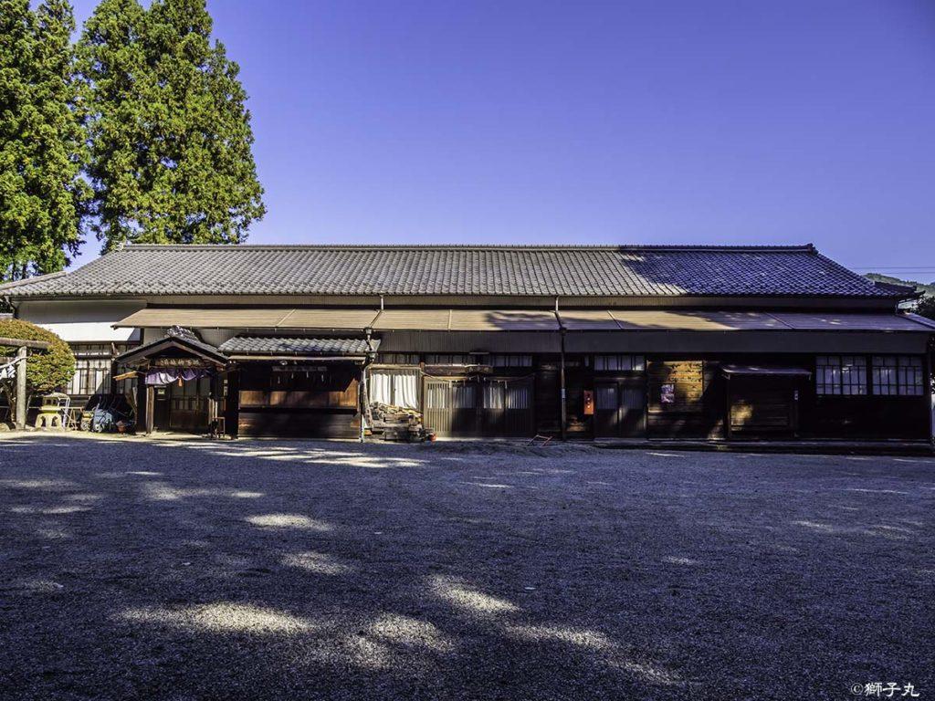 坂下神社 直会殿・社務所