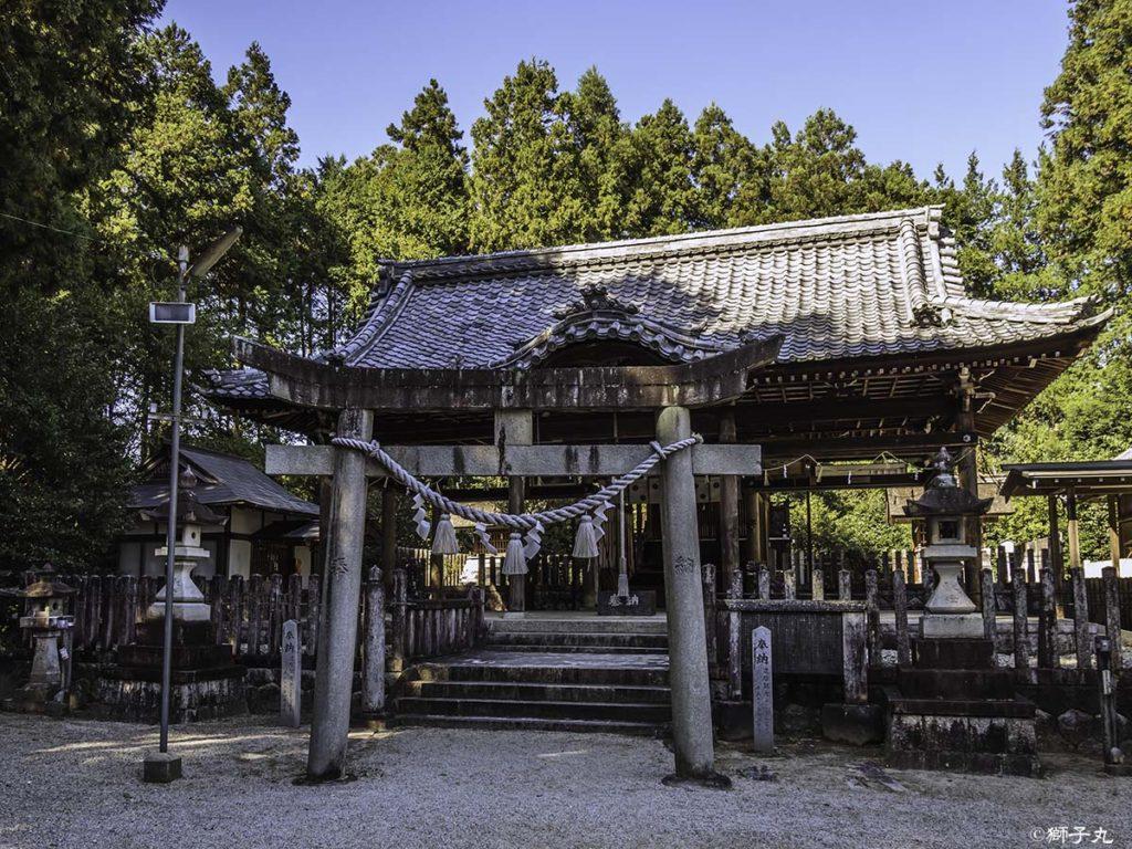 坂下神社 鳥居
