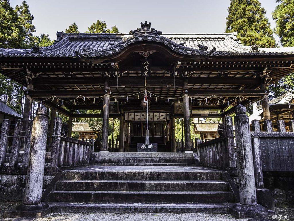坂下神社 拝殿