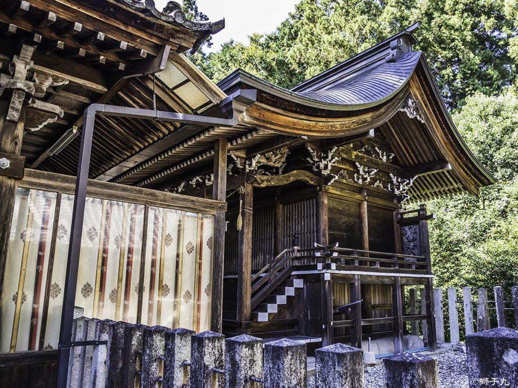 坂下神社 本殿