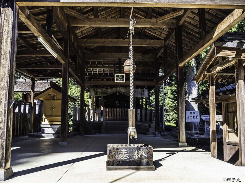 坂下神社 坂下護国神社 拝殿