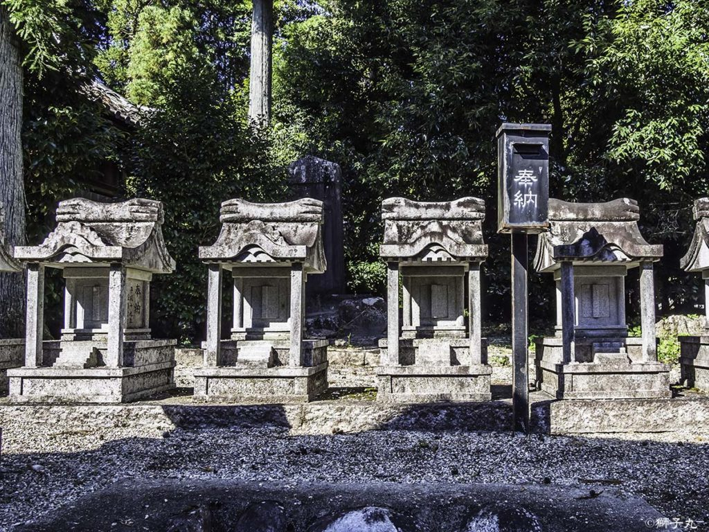坂下神社 十二社社