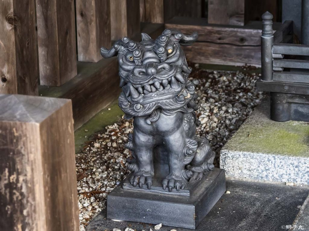 大陶神社 狛犬(吽形)