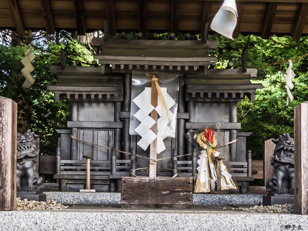 大陶神社 神殿
