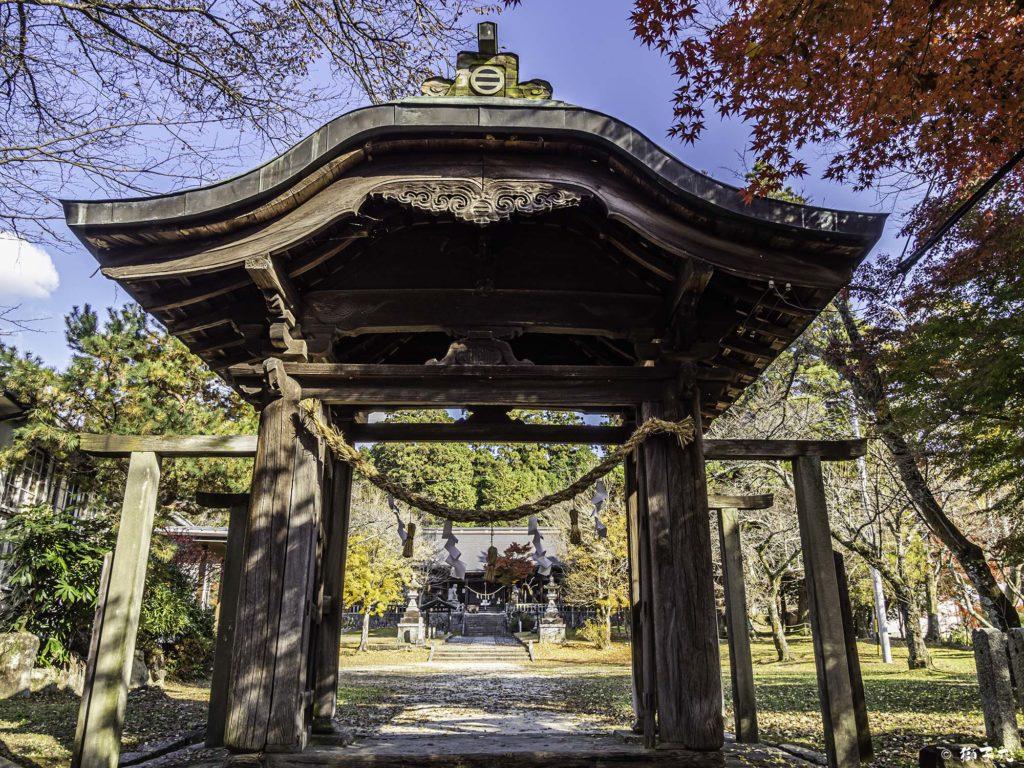 八王子神社 日本大正村 唐門