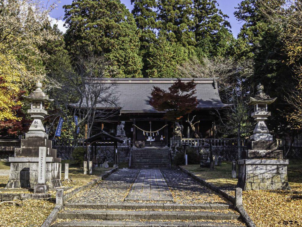 八王子神社 日本大正村 境内