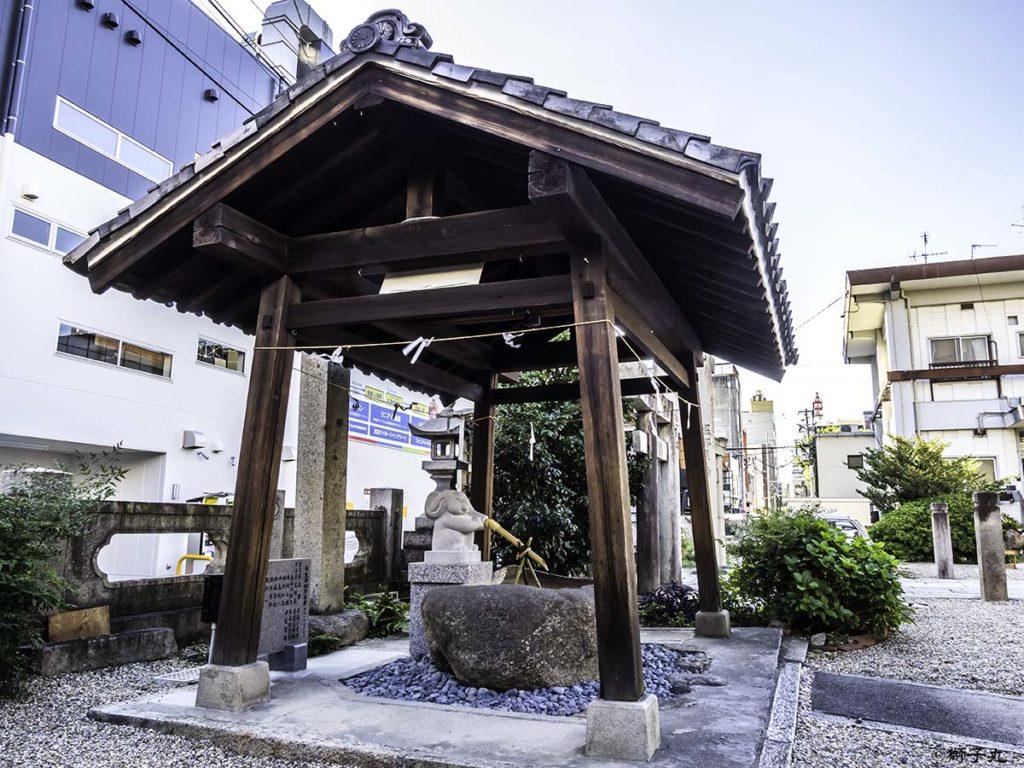三輪神社(愛知県名古屋市) 手水舎