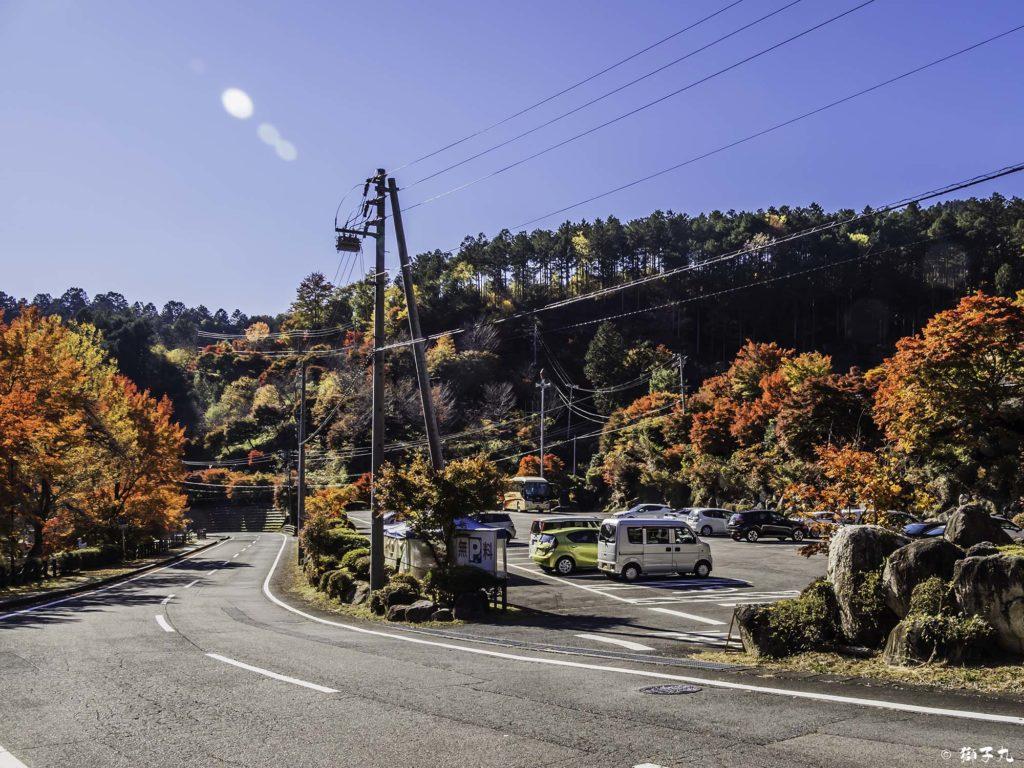 夕森公園 駐車場