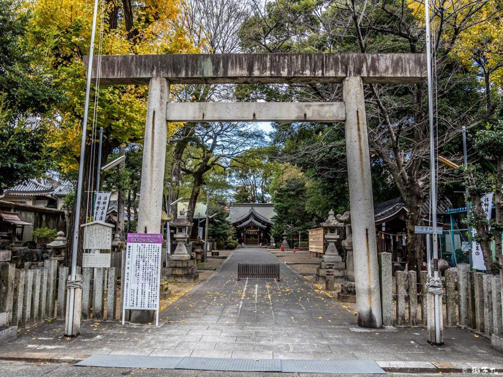 日置神社(名古屋市) 鳥居