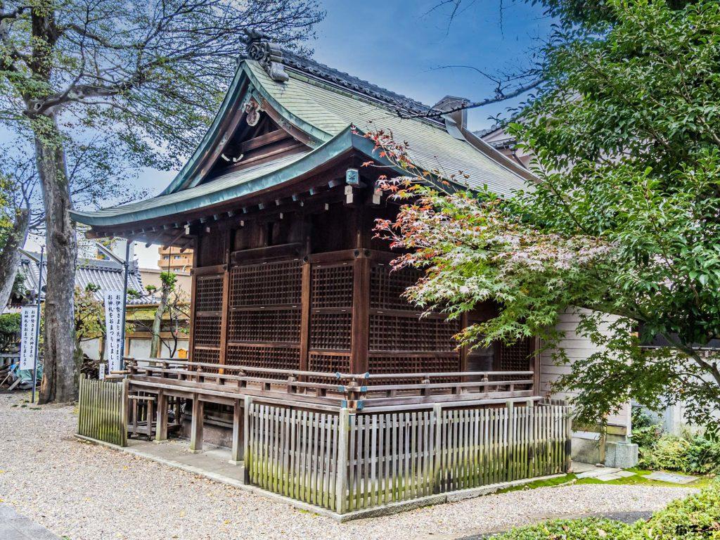 日置神社(名古屋市) 神楽殿