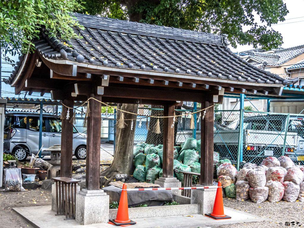日置神社(名古屋市) 手水舎