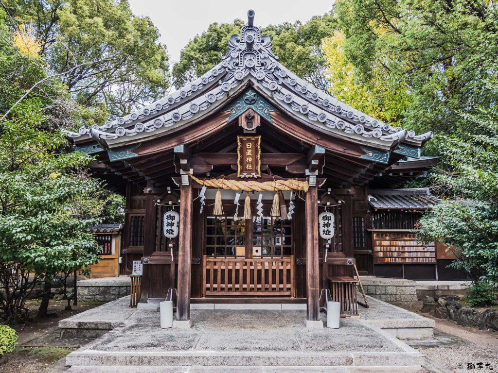 日置神社(名古屋市) 拝殿