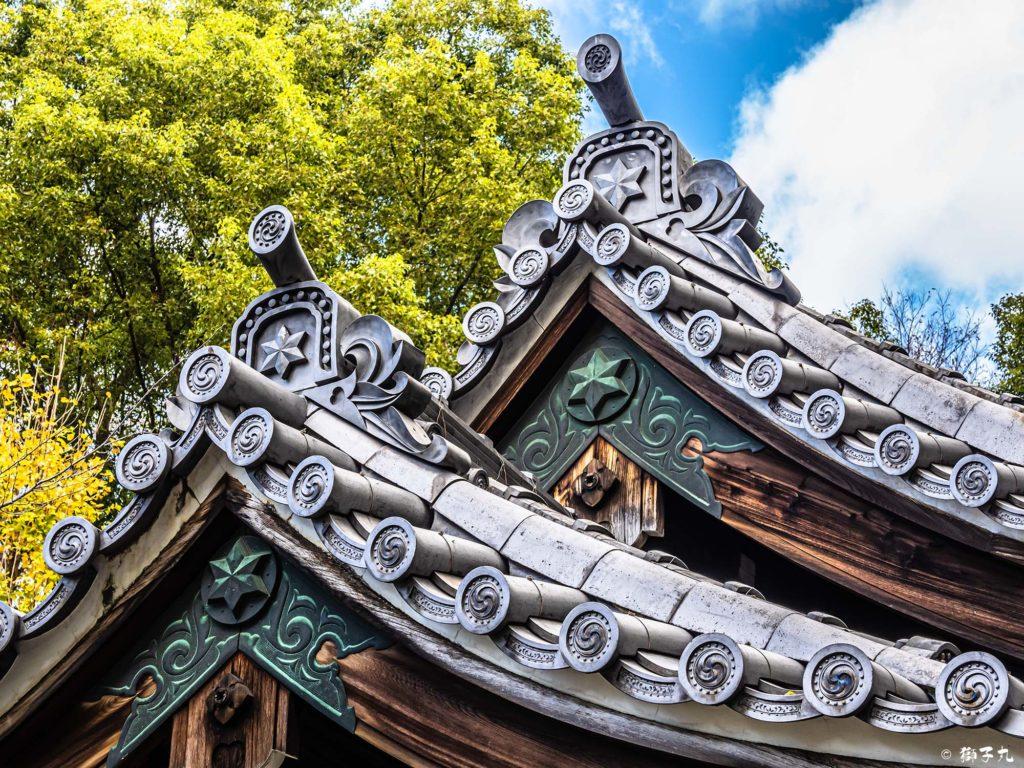 日置神社(名古屋市) 麻葉の神紋