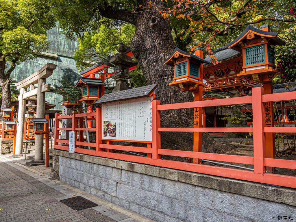 春日神社(愛知県名古屋市中区) 鳥居
