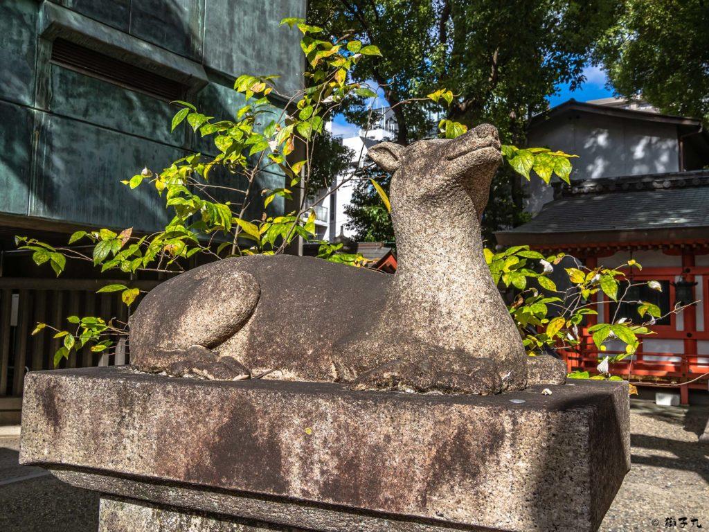 春日神社(愛知県名古屋市中区) 狛鹿