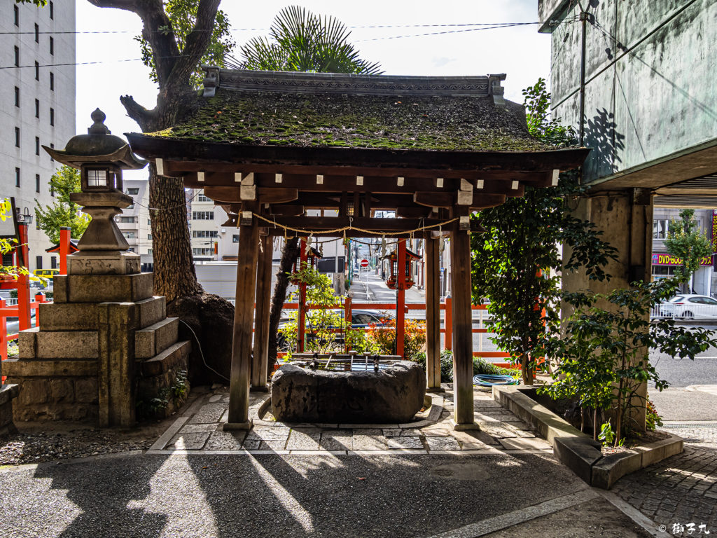 春日神社(愛知県名古屋市中区) 手水舎