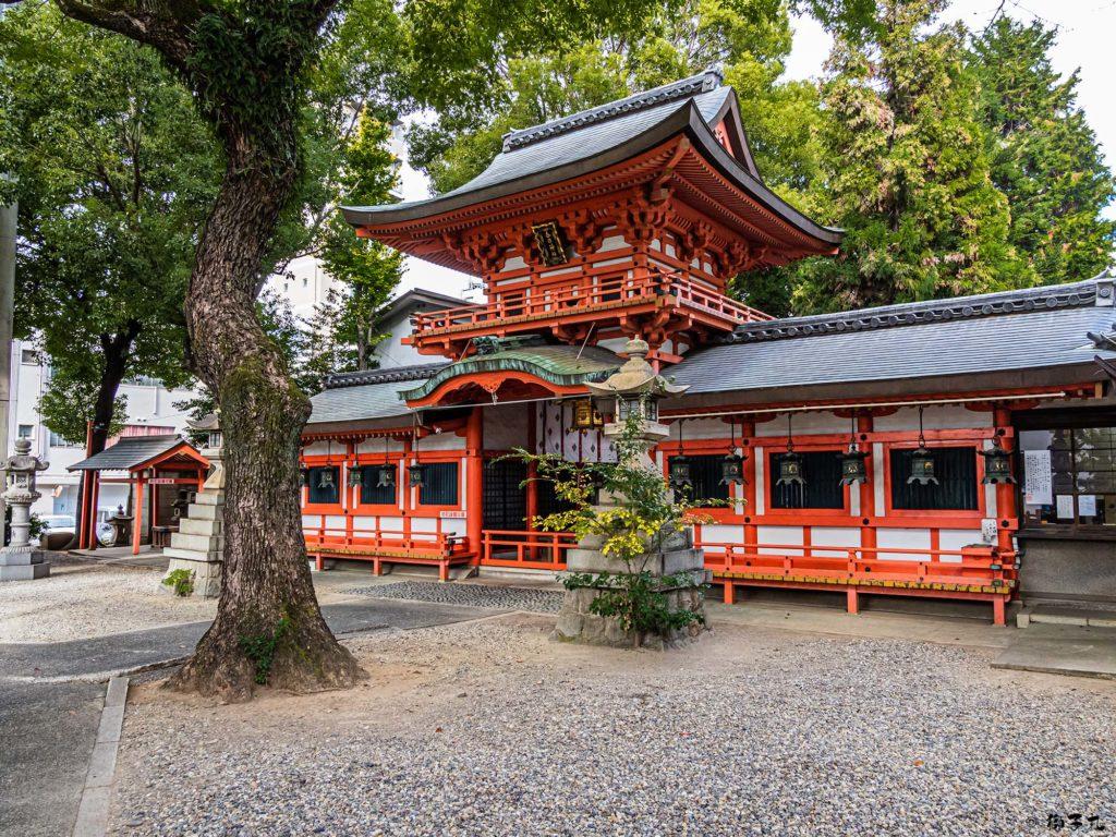 春日神社(愛知県名古屋市中区) 境内