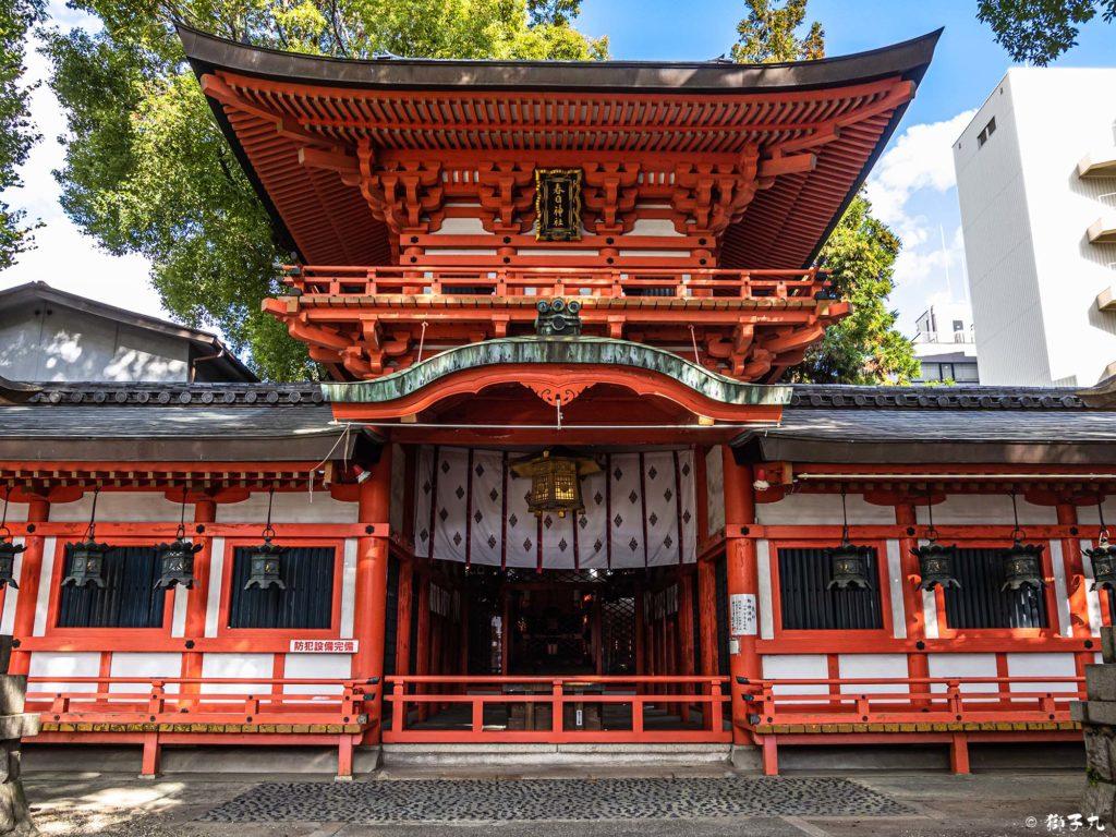 春日神社(愛知県名古屋市中区) 拝殿