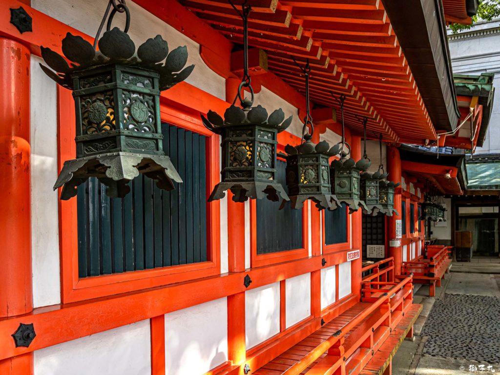 春日神社(愛知県名古屋市中区) 釣燈籠
