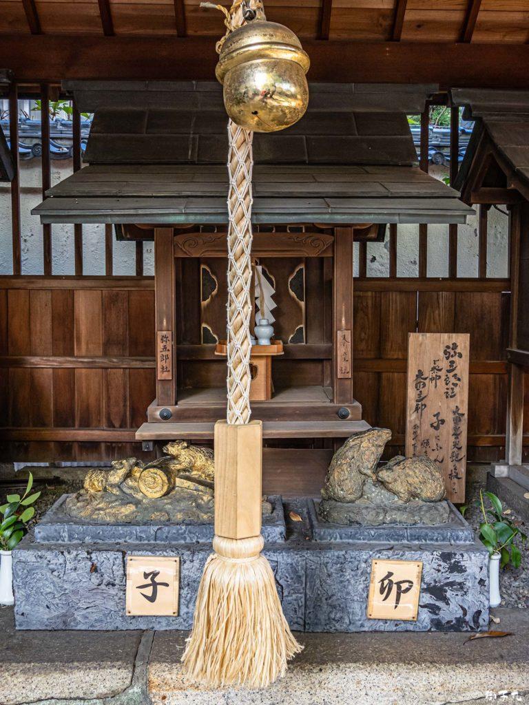 洲崎神社(愛知県名古屋市) 泰産社・弥五郎社相殿