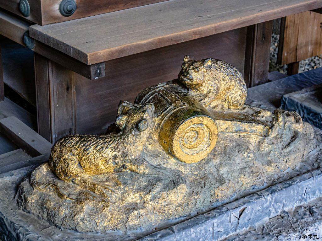 洲崎神社(愛知県名古屋市) 十二支 子