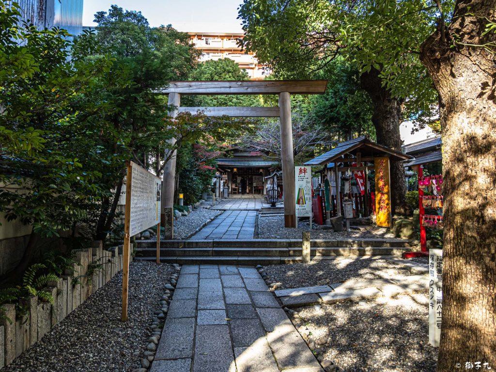 洲崎神社(愛知県名古屋市) 参道