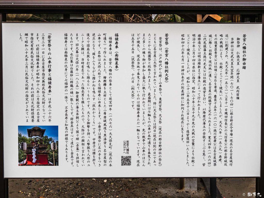 若宮八幡社(名古屋市中区) 由緒