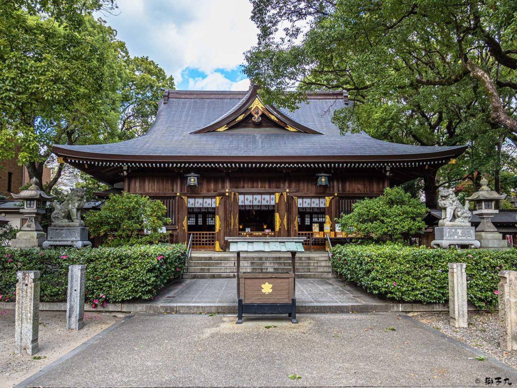若宮八幡社(名古屋市中区) 拝殿