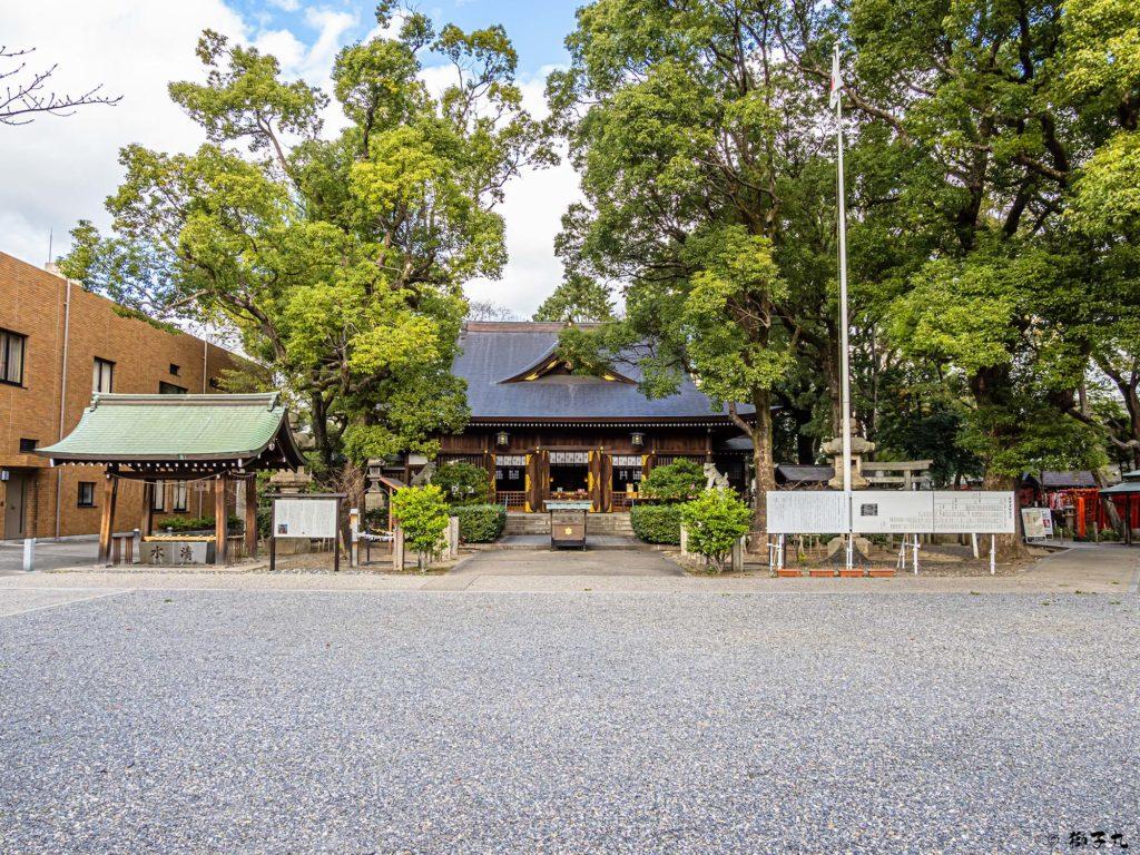 若宮八幡社(名古屋市中区) 境内
