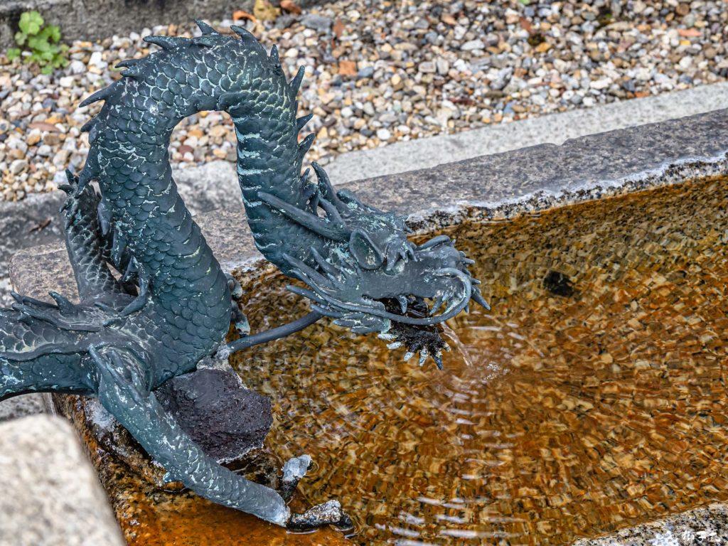北野神社 名古屋市中区大須 手水舎