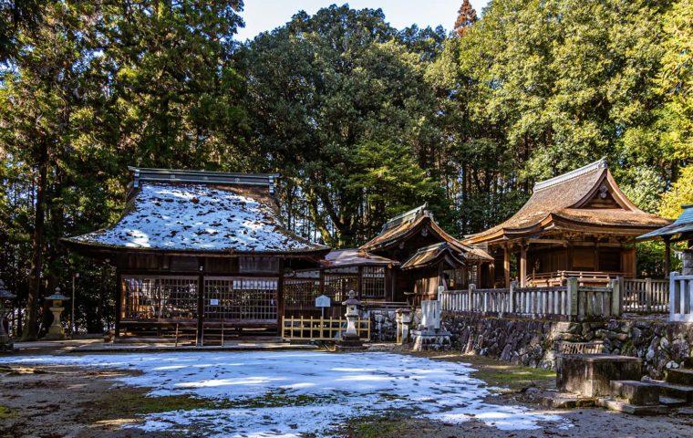武並神社(恵那市大井町)