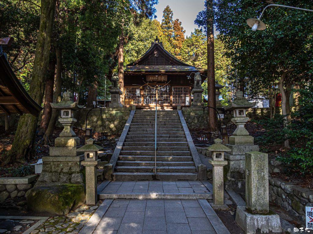 武並神社(恵那市大井町) 拝殿