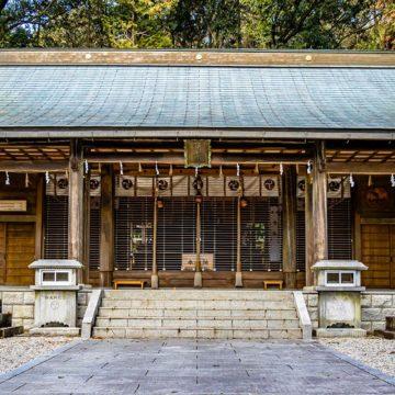 中川神社(岐阜県中津川市)