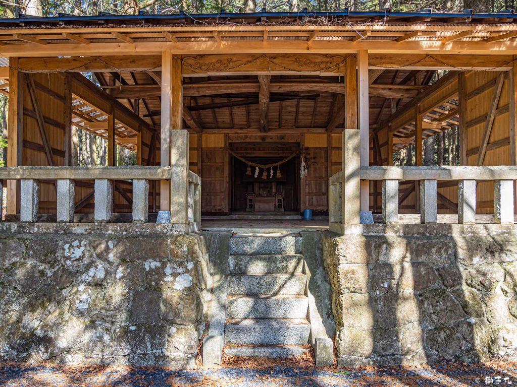 血洗神社(中津川市) 拝殿