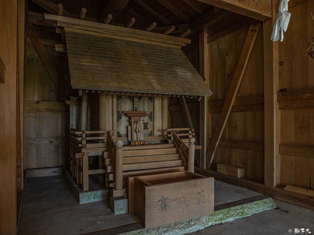 血洗神社(中津川市) 本殿