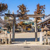 市神神社(恵那市大井宿)